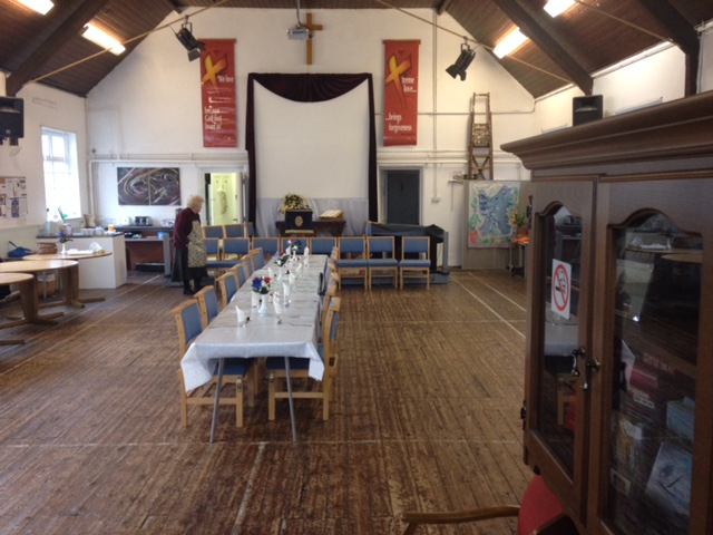 Aldersbrook baptist church hall